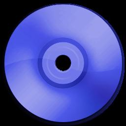 Cd DVD Dark Blue
