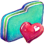 Fav Green Folder icon