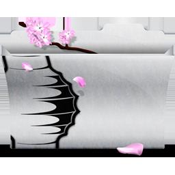 Favorite white folder