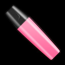 Marker Stabilo Pink Shut