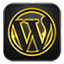 Wordpress neon glow Icon