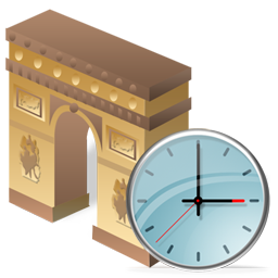 Arch of Triumph Clock