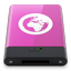HDD Pink Server W Icon