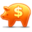 Piggy Bank hot icon