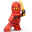 Lego Ninja Red Icon