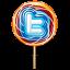 Twitter lollipop Icon