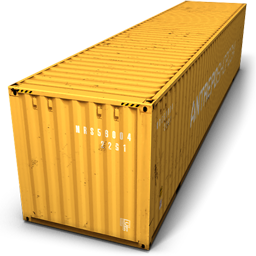 Yellow Container Icon Download Container Icons Iconspedia