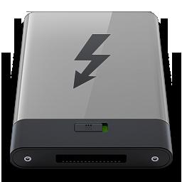 HDD Grey Thunderbolt B