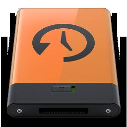 HDD Orange Time Machine B