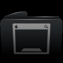 Folder black desktop-128