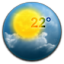 Weather Round icon