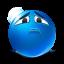 sincere sadness icon