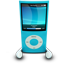 Blue iPod Nano icon