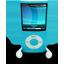 Blue iPod Nano icon