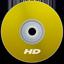 HD Yellow icon
