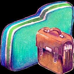 Bag Green Folder