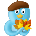 fall leaves no text-128