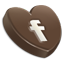 Facebook heart icon