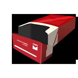 Red Cigarrete pack