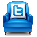 Twitter armchair-128