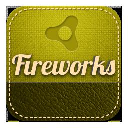 Fireworks retro
