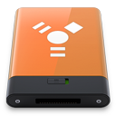HDD Orange Firewire W-128