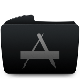 Folder black applications