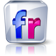 Flickr high detail icon