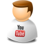 User web 2.0 youtube Icon