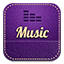Music retro icon