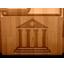Library matte icon