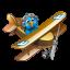 Twitter flying boy Icon