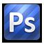 Photoshop rounded Icon
