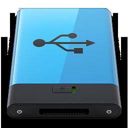 HDD Blue USB B