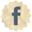 Retro Facebok icon