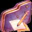 Note Violet Folder icon