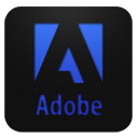 Adobe logo blueberry-128