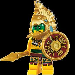 Lego Aztec Warrior