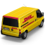 Van DHL Back icon