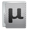 uTorrent metal icon
