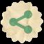 Retro Sharethis Icon