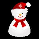 Sleepy Snowman-128