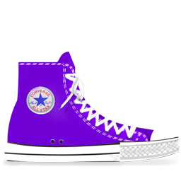 Converse Lila light