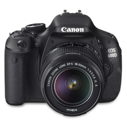 Canon 600D front up