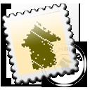 Grey Designbump stamp