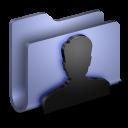 User BLue Folder-128