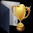 Folder Blue Award-128