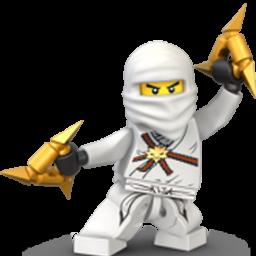 Lego Ninja White