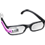 Pink Google Glasses icon
