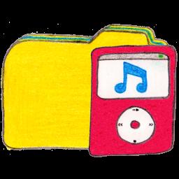 Folder y ipod
